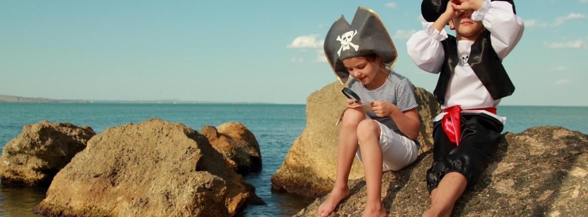 piraten themafeest kinderpartijtje Leiden