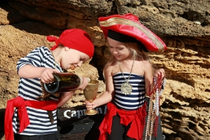 Piratenavontuur thema kinderfeestje