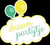 Logo Droompartijtje + ballon RGB