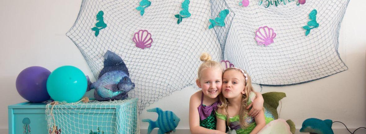 zeemeerminnen feest