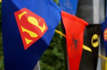 Superhelden decoratie