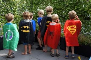 Superheldenfeestje