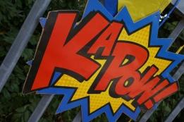 Superhelden versiering 3
