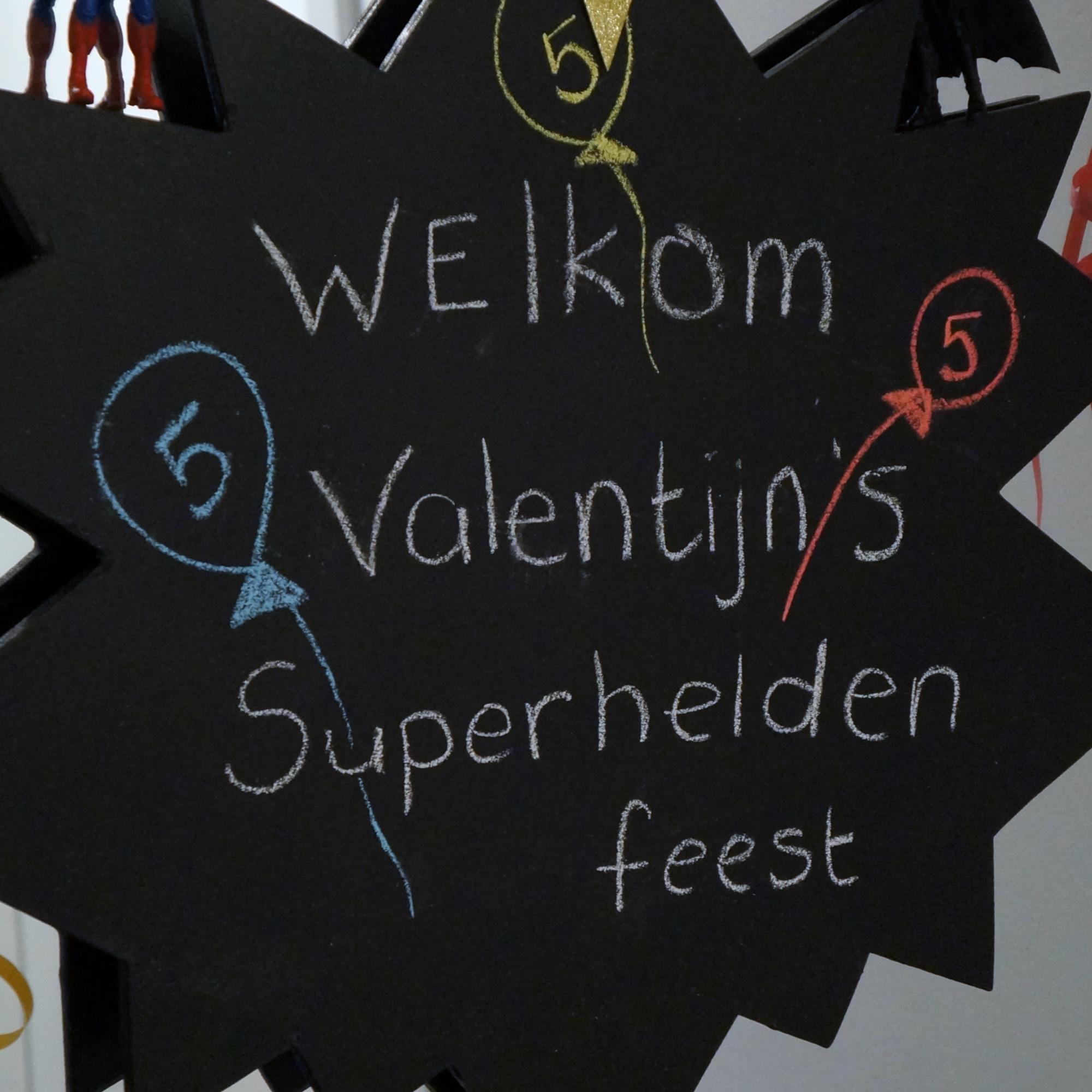 superhelden themafeest