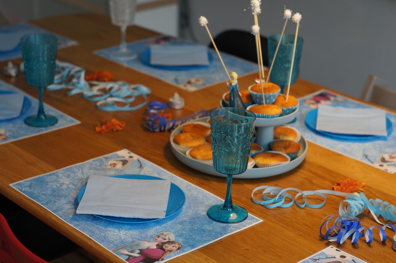 Frozen decoratie kinderfeest