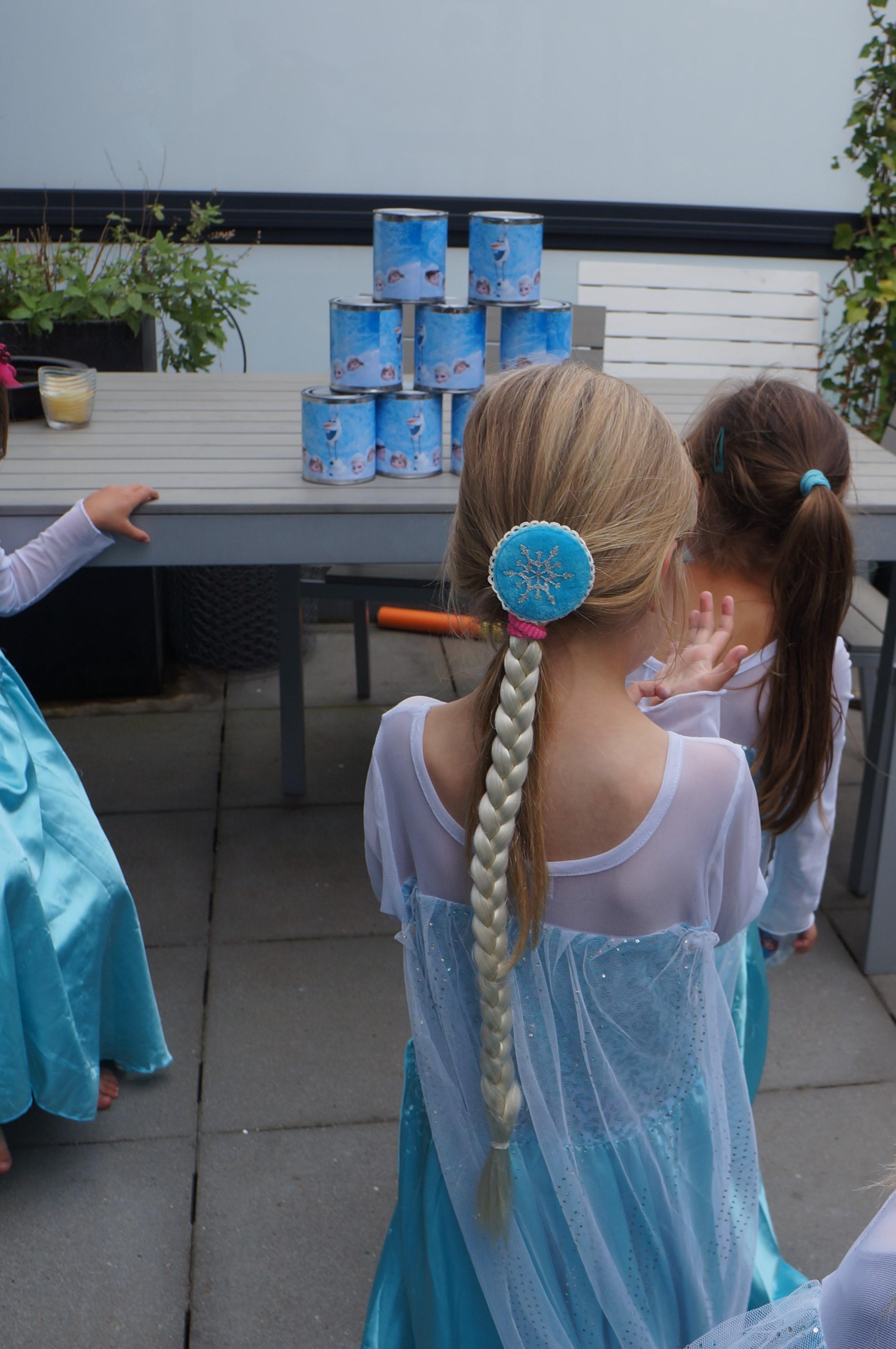 Kinderthemafeest Frozen