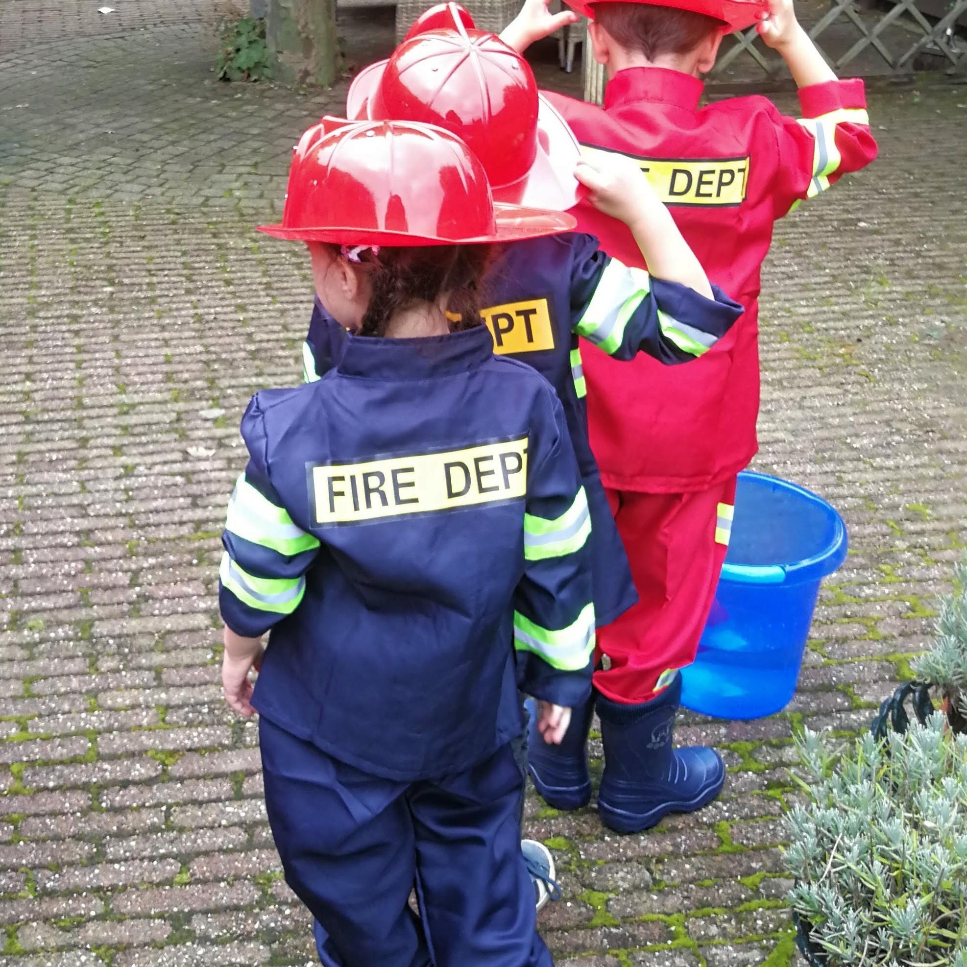 Brandweerfeestje kinderen