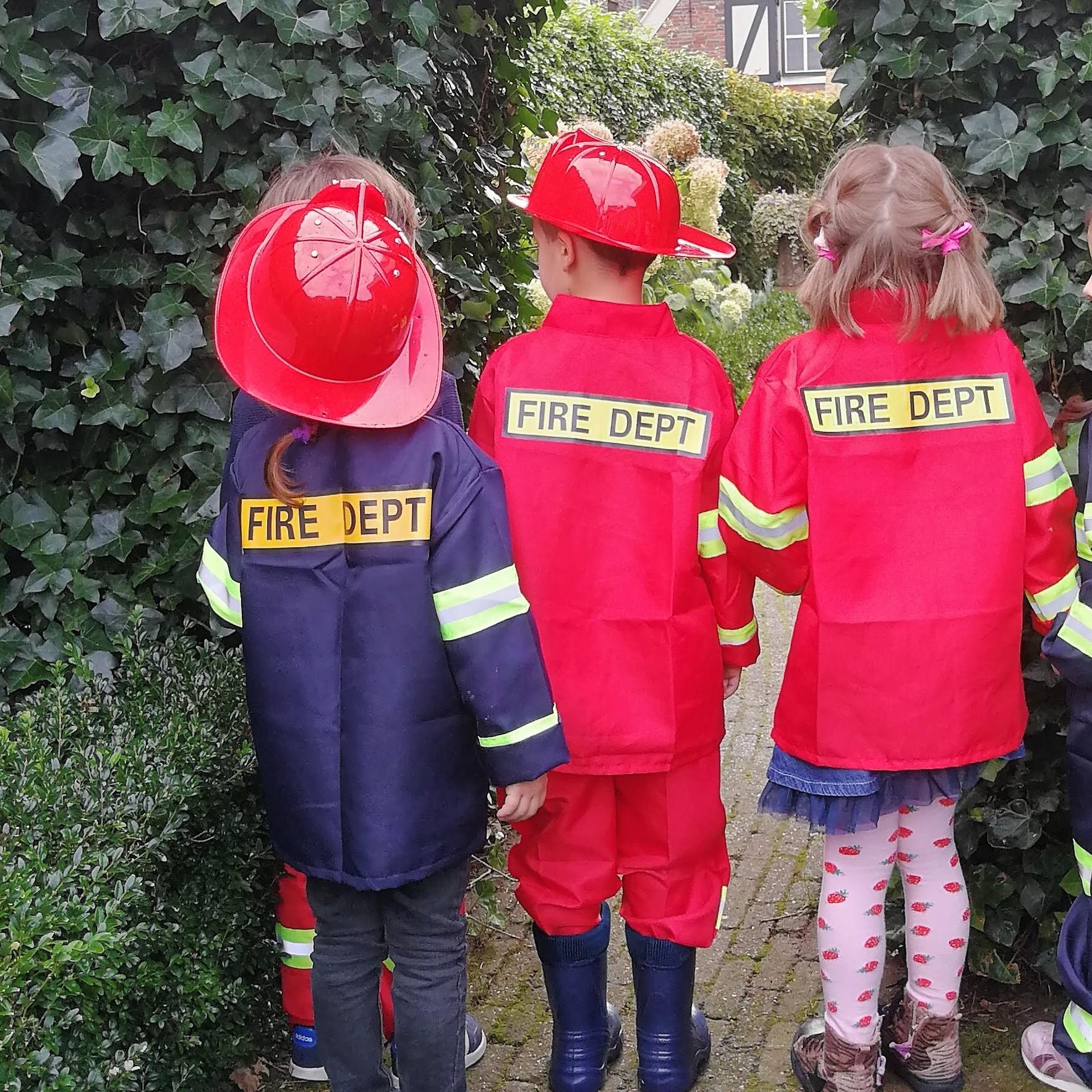 Brandweerkist kinderfeest