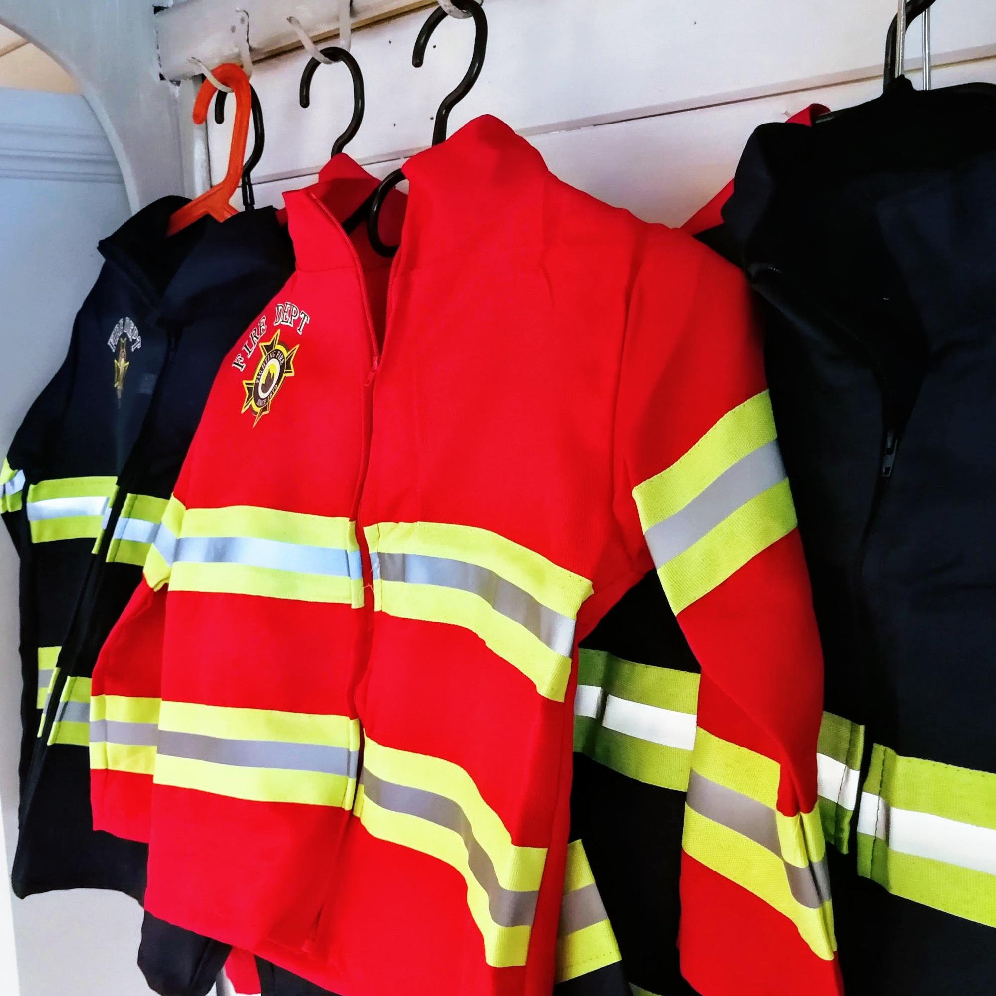 Brandweer verkleedkleding