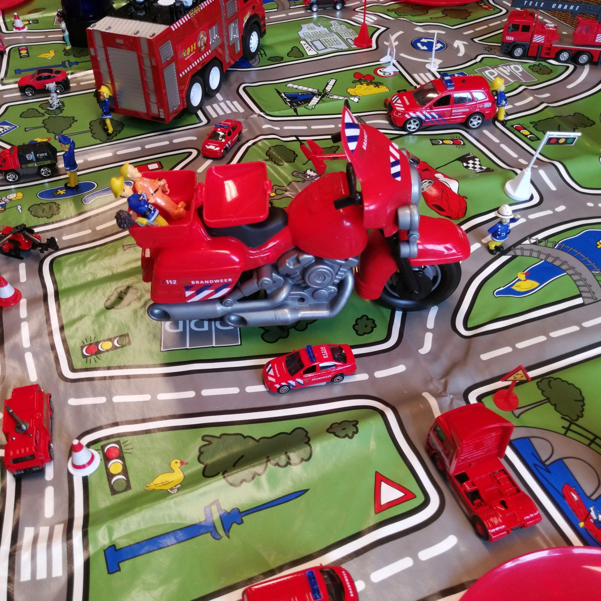 Brandweer kinderfeestje Leiden