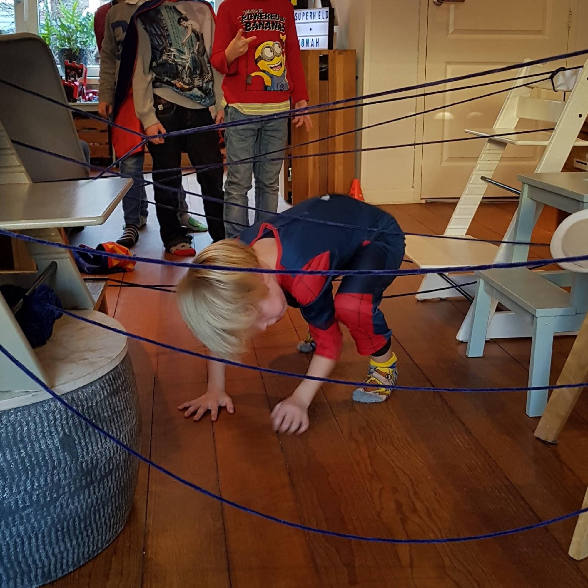Superhelden themakist Leiden