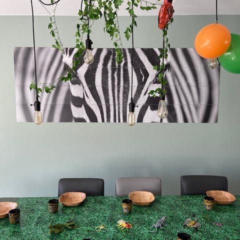 Jungle themafeestje
