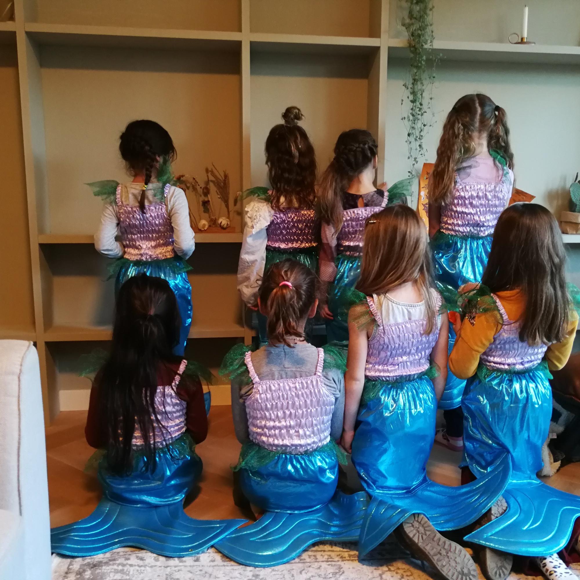 zeemeerminnen feestje