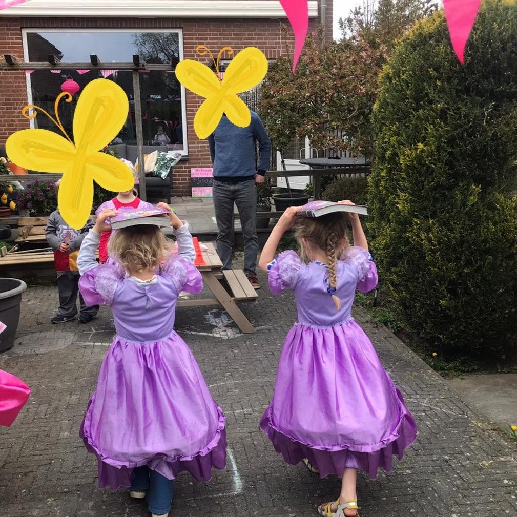 Spelletjes prinsessenfeest Leiden
