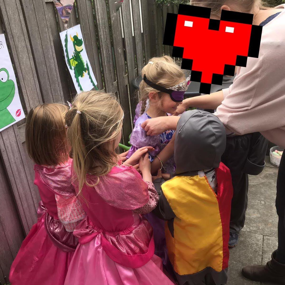 Themakist prinsessenfeest